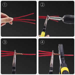 Wire Stripping and Twisting Tool Version 2.0 - Awesales
