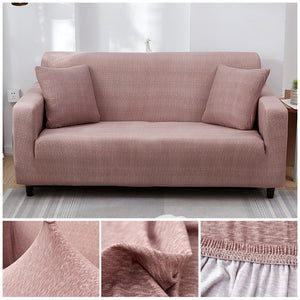 Premium Sofa Cover - 1 Seater : 90-140cm / PINK - Awesales