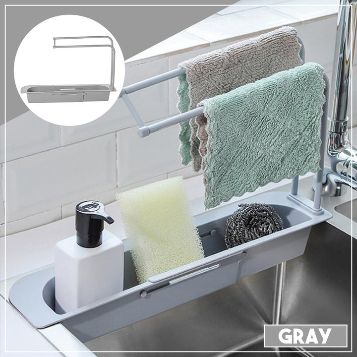 Kitchenware Rack - Gray - Awesales