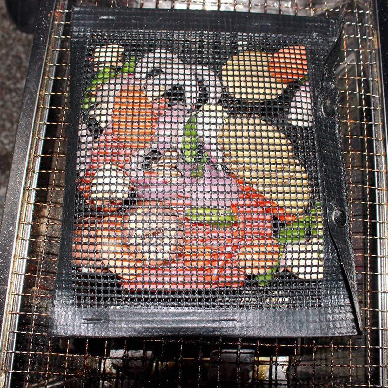 Reusable Non-Stick BBQ Mesh Grill Bags - Awesales
