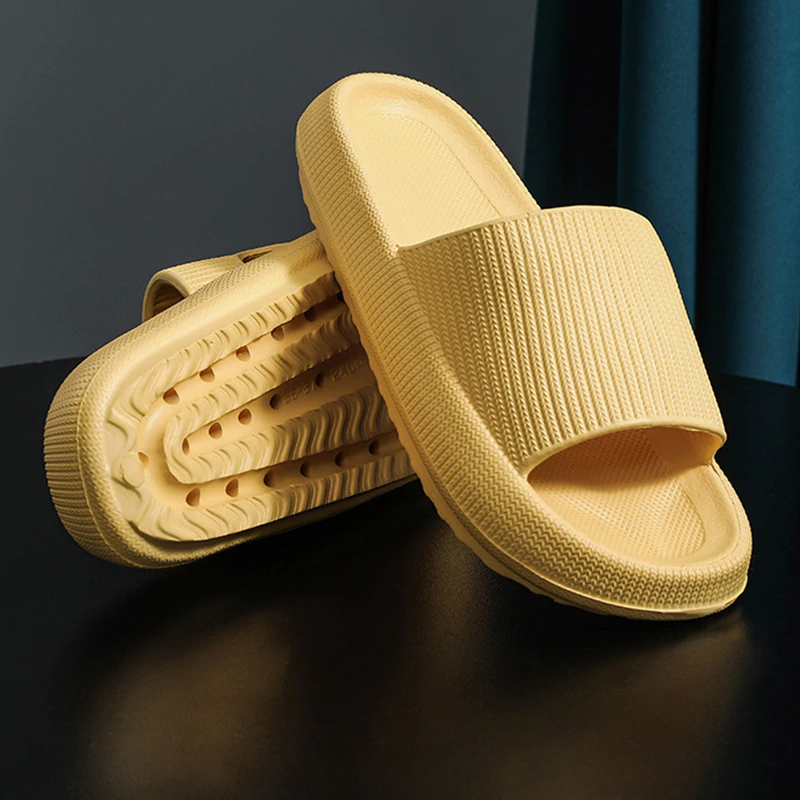 Extremely Comfy/Thick Slippers - YELLOW / 6 - Awesales