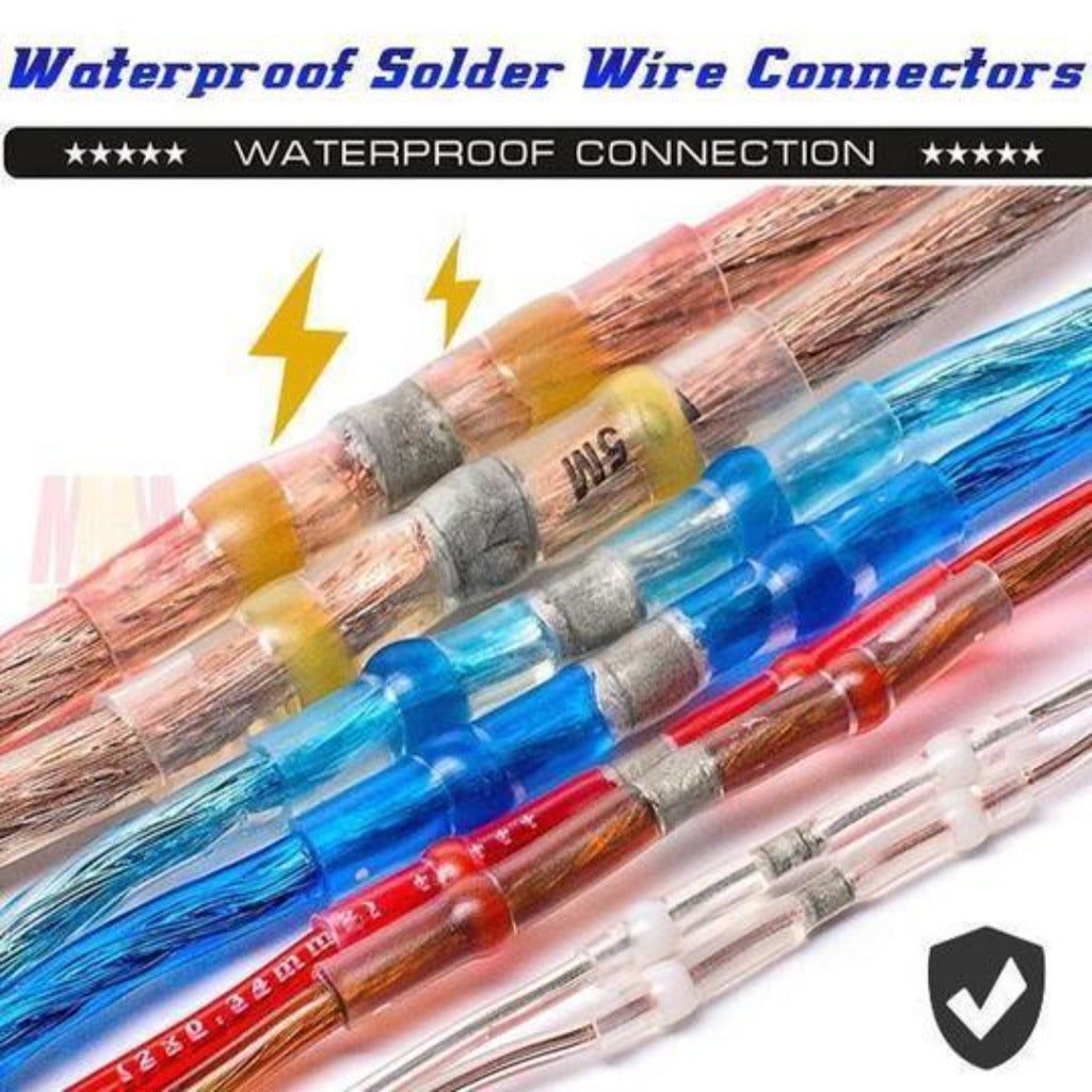 NEC™ - Waterproof Solder Wire Connectors - - Awesales