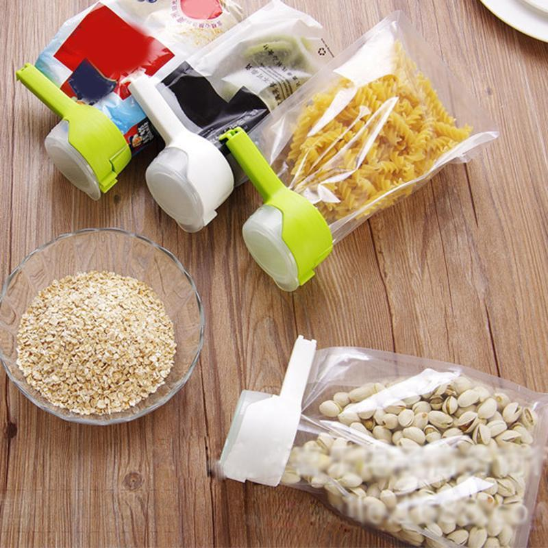 Easy Pour Seal - Food Storage Bag Sealing Clip - Awesales