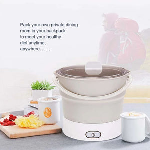 Portable Folding Hot Pot - - Awesales