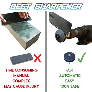 Lawn Mower Blade Sharpener - Awesales