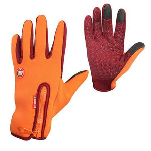 Premium Thermal Gloves for Outdoor Activities - Orange / S - Awesales