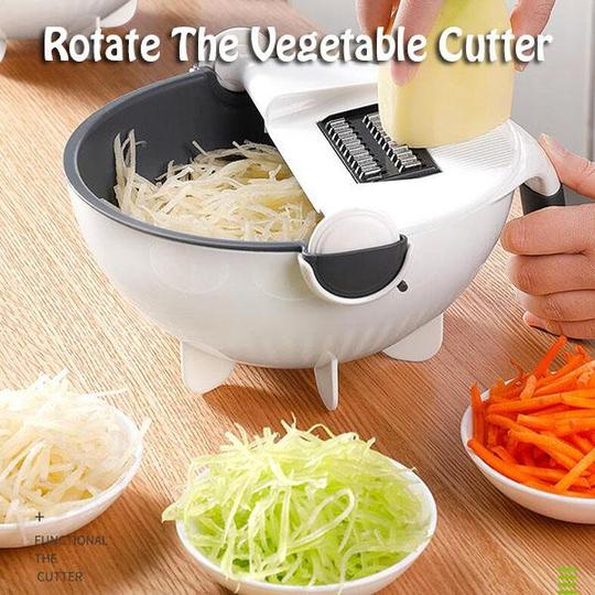 Rotate The Vegetable Cutter - - Awesales