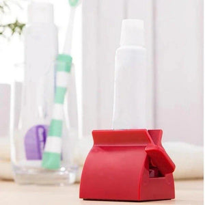 Rolling Tube Toothpaste Squeezer - 1 PCS ( RED ) - Awesales