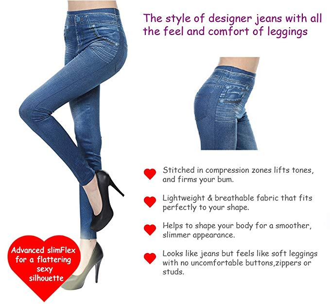 5cfe9befd1da7e Capri™ - Curvy Jegging Jeans (Plus Size available) – Awesales