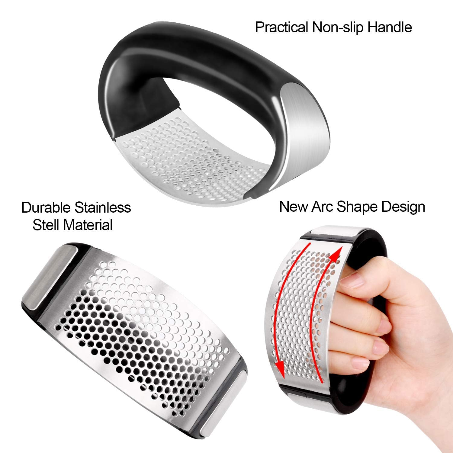 Misugi™ - Chefs Recommended Garlic Press - Awesales