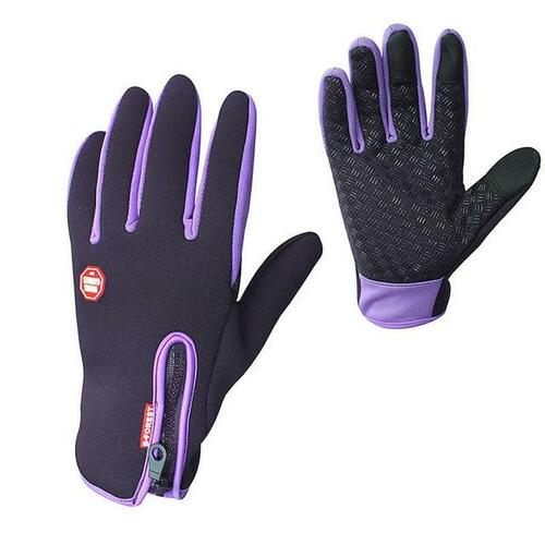 Premium Thermal Gloves for Outdoor Activities - Purple / L - Awesales
