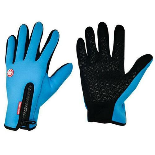 Premium Thermal Gloves for Outdoor Activities - Blue / L - Awesales