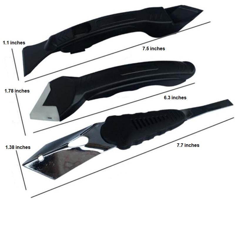 3 In 1 Silicone Caulking Tool - - Awesales