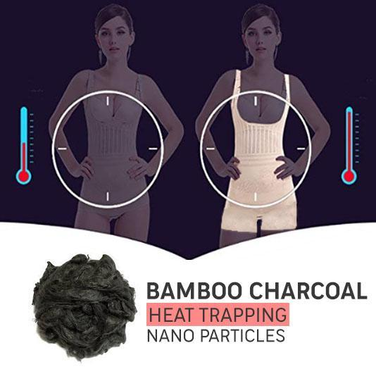 Bamboo Charcoal Sculpting Body Shaper - - Awesales