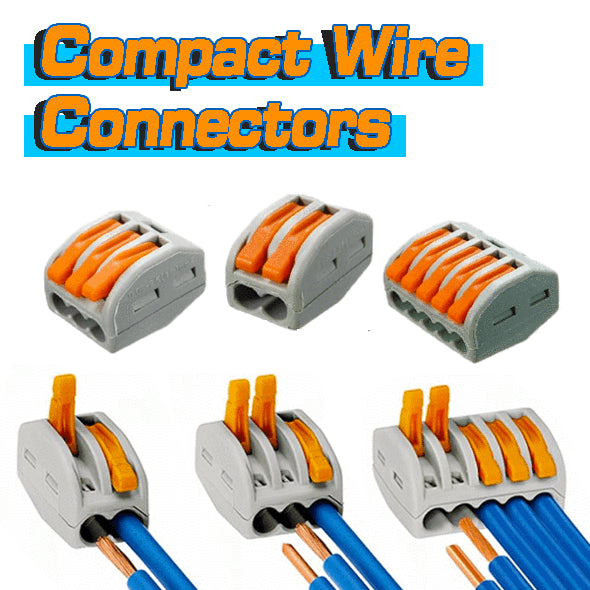 Heat Resistant Compact Wire Connectors samples