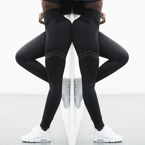Anti-Cellulite Compression Leggings - Black / M - Awesales