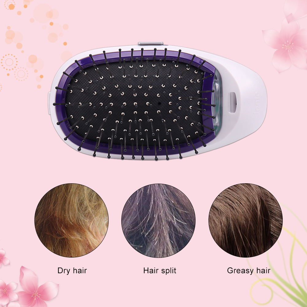 Ionic-Breeze™ Hair Brush - Black - Awesales
