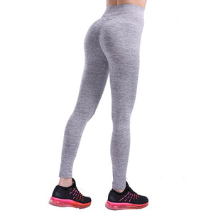 B.Lift™-Push Up Leggings: Booty Boost Power! - Light Gary / L - Awesales