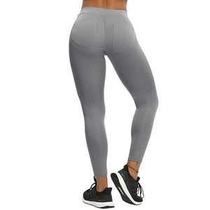 B.Lift™-Push Up Leggings: Booty Boost Power! - Patch Gray / L - Awesales