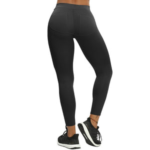 B.Lift™-Push Up Leggings: Booty Boost Power! - Patch Black / L - Awesales