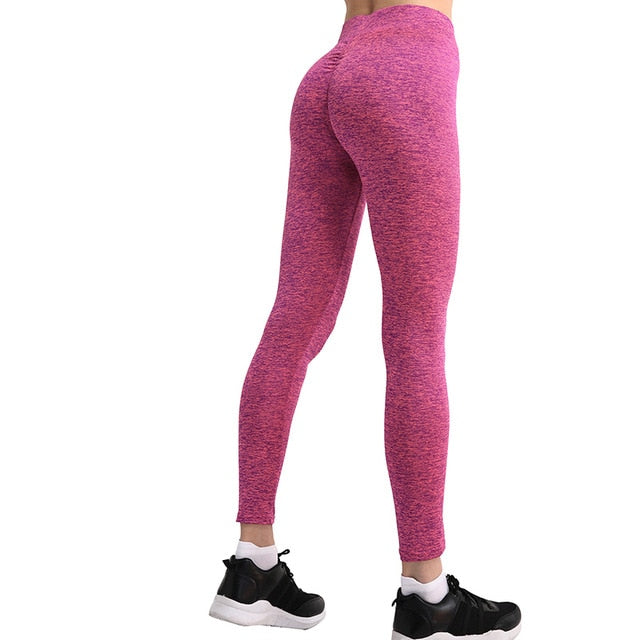 B.Lift™-Push Up Leggings: Booty Boost Power! - Rose / L - Awesales