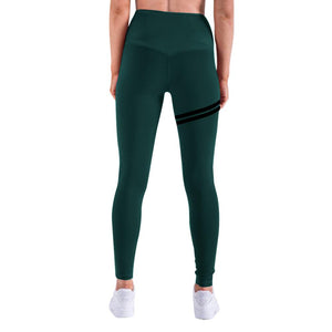 Anti-Cellulite Compression Leggings - Army Green / L - Awesales