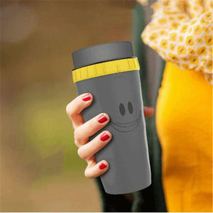 Leak Proof Travel Coffee Cup - Gray - Awesales