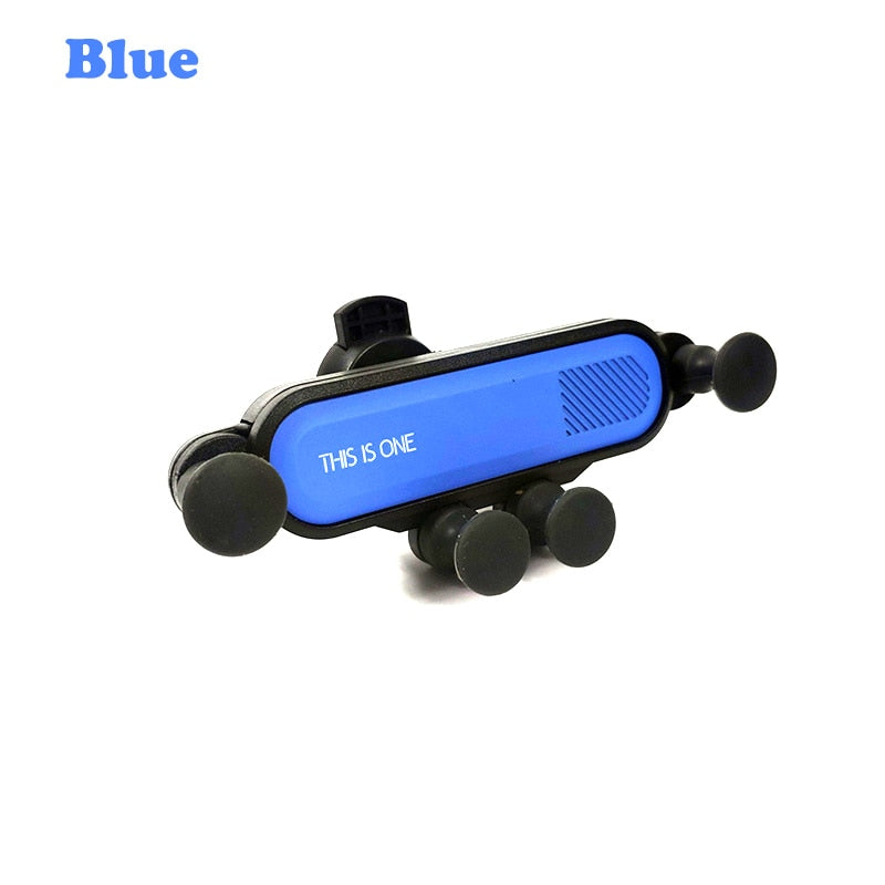 Universal Auto-Grip Car Phone Mount - Blue - Awesales