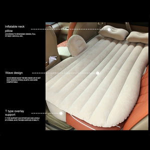 Inflatable Car Mattress - - Awesales
