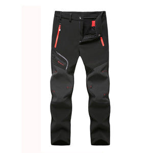 MOUNTAINSKIN MEN'S WATERPROOF WINTER PANTS - Black / L - Awesales
