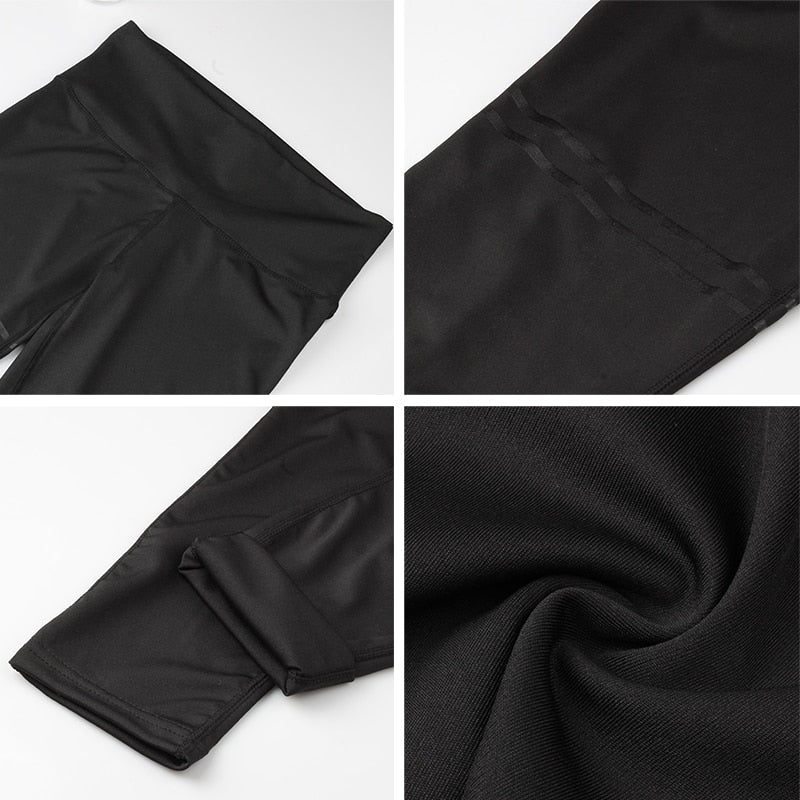 Anti-Cellulite Compression Leggings - - Awesales