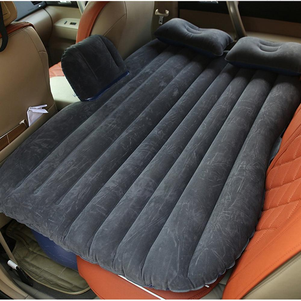 Inflatable Car Mattress - Black / China - Awesales