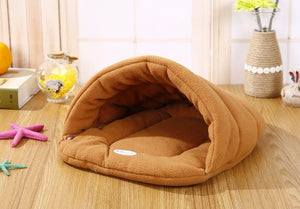 Warm Sleeping Fleece Dog Bed - Yellow / M 48X38CM - Awesales