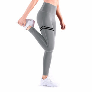 Anti-Cellulite Compression Leggings - Gray / L - Awesales
