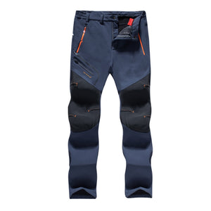 MOUNTAINSKIN MEN'S WATERPROOF WINTER PANTS - Blue / 4XL - Awesales