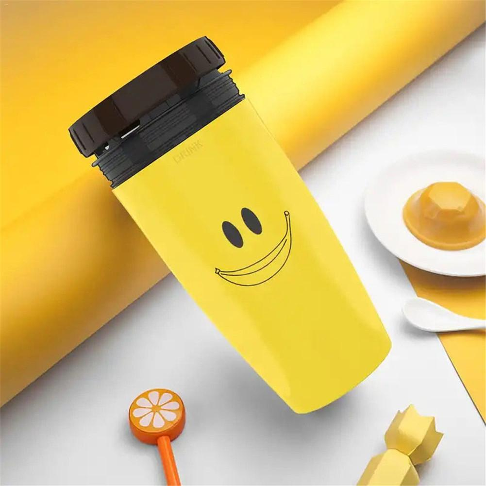 Leak Proof Travel Coffee Cup - Yellow - Awesales