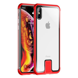 No Border Case For iPhone - For iPhone XR / Red - Awesales