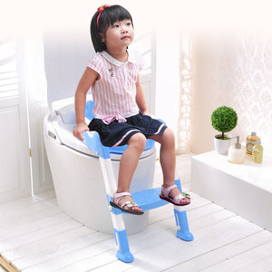 Varied Toilet Training Seats and Potties for Babies And Toddlers - Blue - Awesales