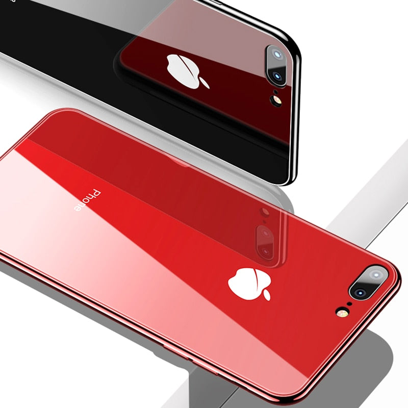 Luxurious All-inclusive Anti-drop Plating Mirror Original iPhone Case - - Awesales