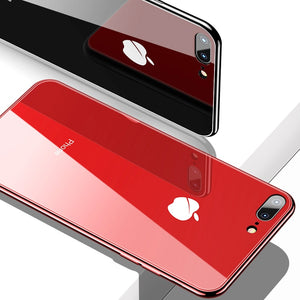 Luxurious All-inclusive Anti-drop Plating Mirror Original iPhone Case - Awesales