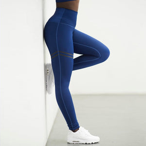 Anti-Cellulite Compression Leggings - Blue / S - Awesales