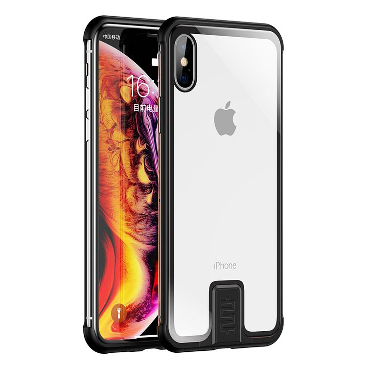 No Border Case For iPhone - For iPhone XR / Black - Awesales
