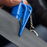 SAFY™ - 3 in 1 Car Life Keychain - Blue - Awesales