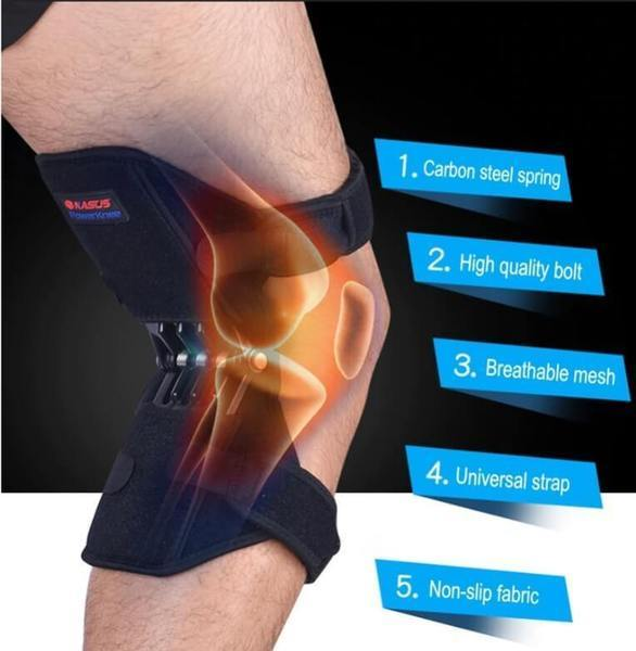 Power Leg Knee Pad (1-Pair) - - Awesales