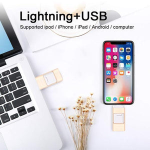 iFlash - OTG USB flash drive for iPhone, iPad & Android - Awesales