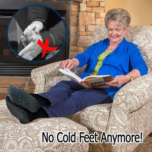 AluSocks™ - Winter 35 Below Aluminized Insulation Fibers Heat Socks - Awesales
