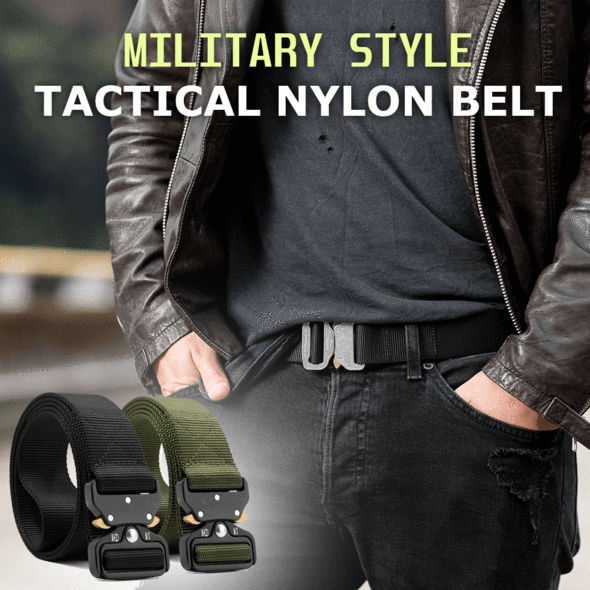 Meta™ - Military Style Tactical Nylon Belt