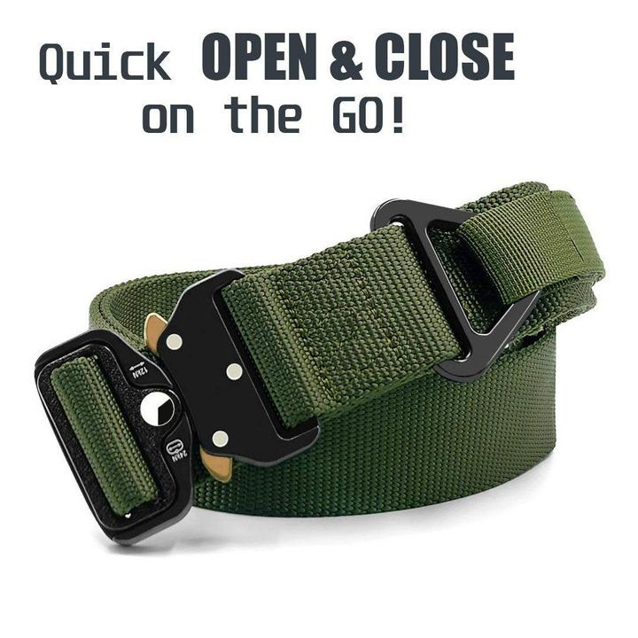 Meta™ - Military Style Tactical Nylon Belt - - Awesales