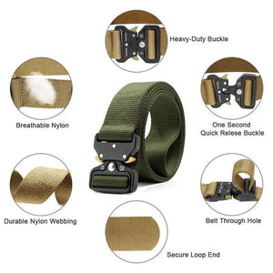 Meta™ - Military Style Tactical Nylon Belt - Pack of 3 colors - Awesales