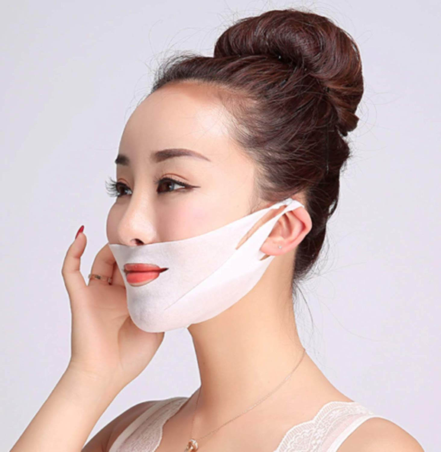 Reusable Miracle V-Shaped Slimming Mask (Set of 3) - Awesales